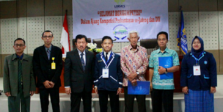 Kompetisi Perkantoran Pendidikan Ekonomi UNNES diikuti Siswa SMK se-Jateng dan DIY
