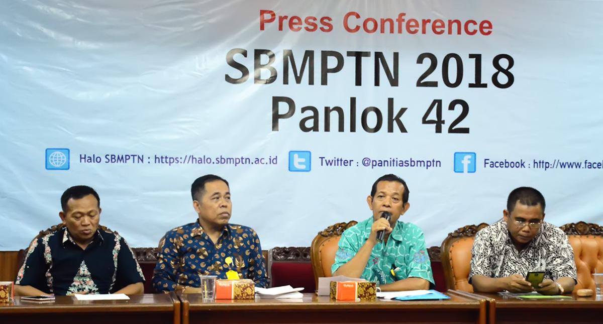 Perkuat Koordinasi, Panitia Lokal 42 SBMPTN Adakan Press Conference
