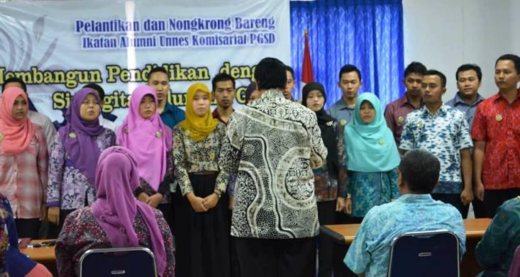 Kepengurusan IKA Unnes Komisariat PGSD Dilantik