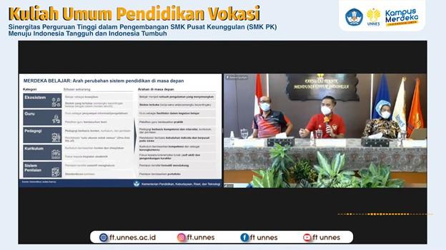 Gelar Kuliah Umum Pendidikan Vokasi, Rektor: UNNES Siap Sukseskan Pendidikan Vokasi
