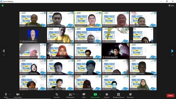 Prodi Sistem Informasi Gelar Kuliah Perdana KMMI Technopreneur 2021
