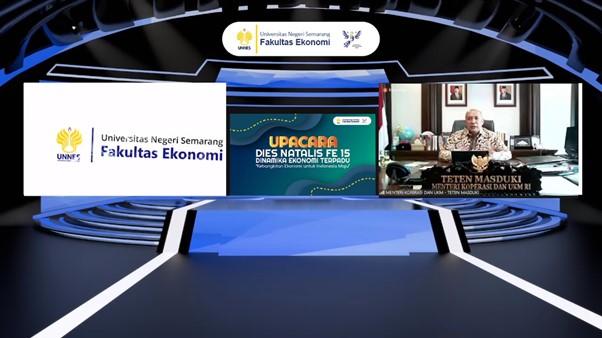 Menteri Koperasi dan UKM RI Drs Teten Masduki Sampaikan Pentingnya Reseller Dalam Kebangkitan Ekonomi Indonesia