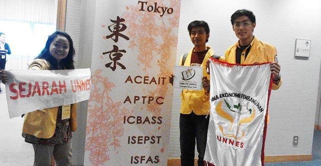 Mahasiswa Unnes Presentasi Karya Ilmiah di Tokyo