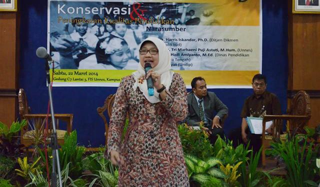 Kedepankan Sikap, Kurikulum 2013 Selaras dengan Semangat Konservasi