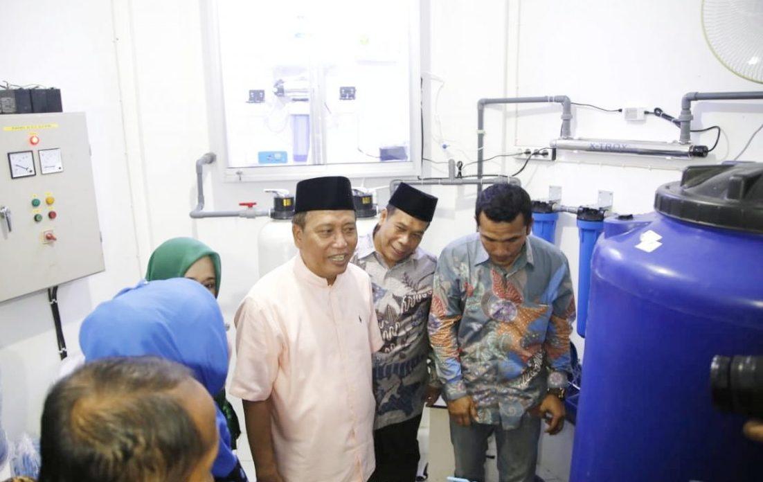 Menristekdikti Resmikan Prototipe Produk Pengolahan Air Bersih CPPBT-PT 2018
