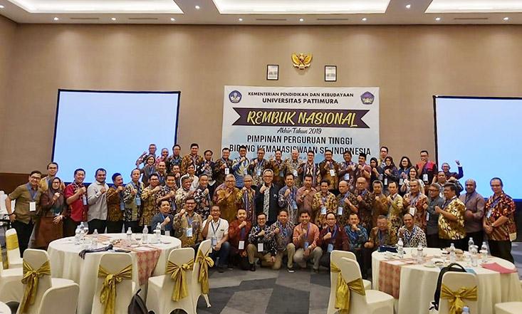 Pimpinan PT Bidang Kemahasiswaan se-Indonesia Selenggarakan Rembuk Nasional