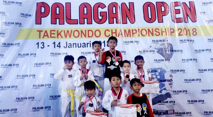 Atlet SD Labschool UNNES Panen Medali dalam Ajang 'Palagan Open Taekwondo Championship 2018'