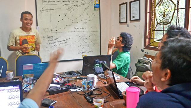 Sekaran Digital Meeting, Inkubator Mahasiswa Pengembang StartUp