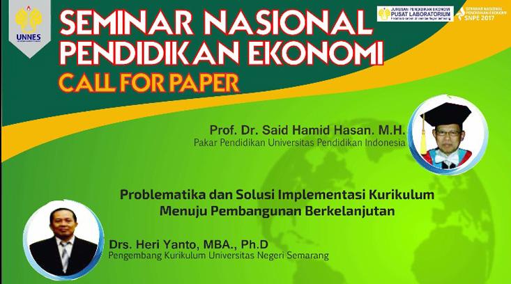 FE UNNES Selenggarakan Seminar Nasional dan Call For Paper : Problematika dan Solusi Implementasi Kurikulum