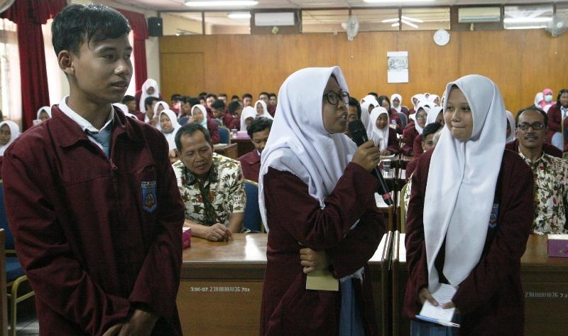 Kejar Impian, Ratusan Siswa SMA 1 Karangdowo Klaten Berkunjung ke UNNES