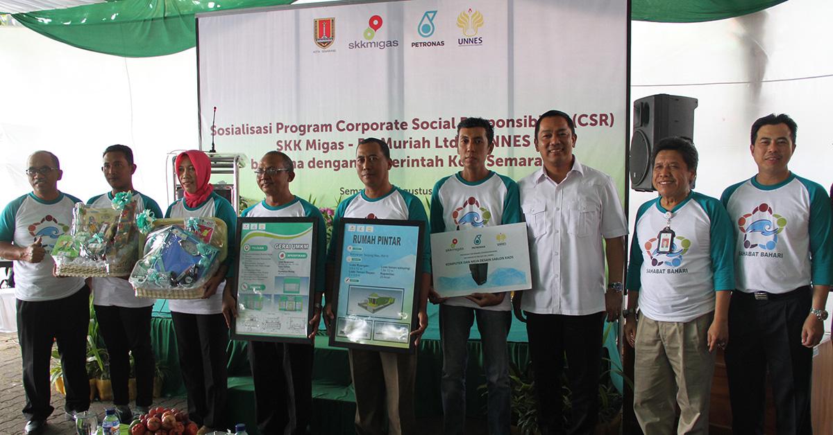 Petronas dan UNNES Sosialisasi TJS di Semarang