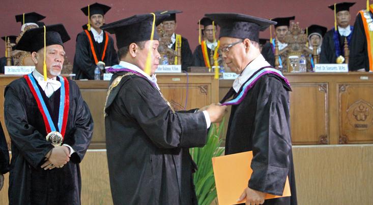 Dikukuhkan sebagai Profesor, Yan Pidato soal Penerjemahan
