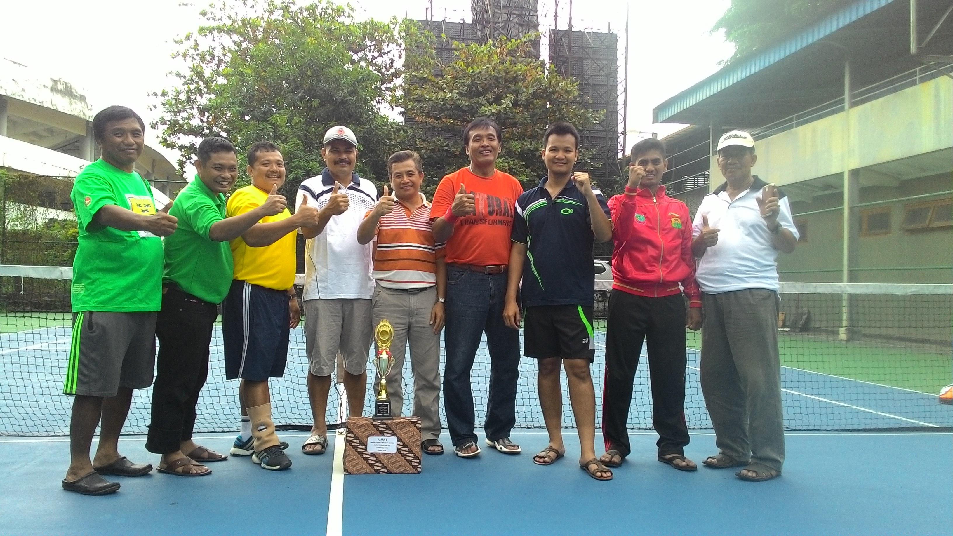 UNNES Sabet Juara 1 Tenis Di UNS