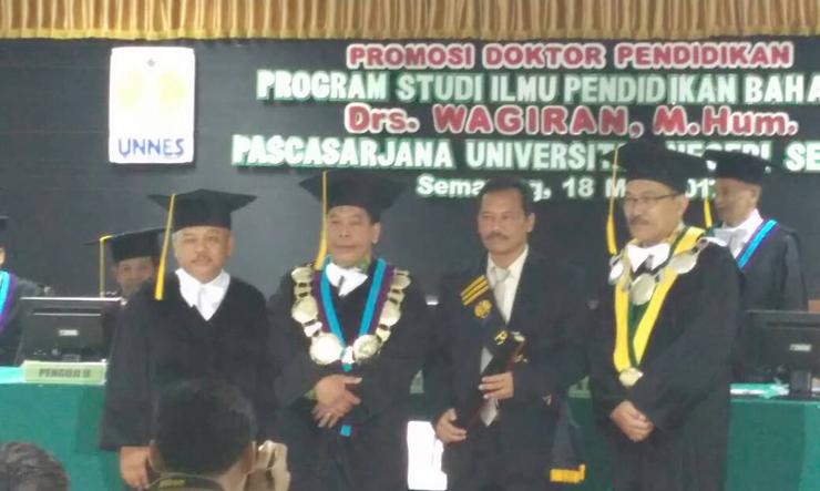 Jurusan Bahasa dan Sastra Indonesia Tambah Doktor