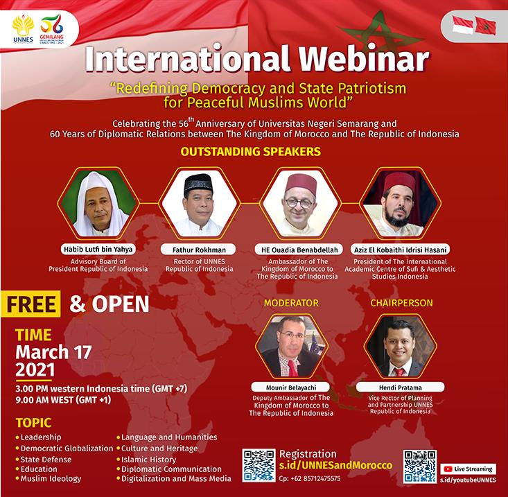 UNNES Akan Selenggarakan Webinar Internasional