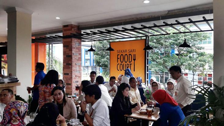 Yuk Datang ke Food Court Sekar Sari UNNES di GSG Lantai 2