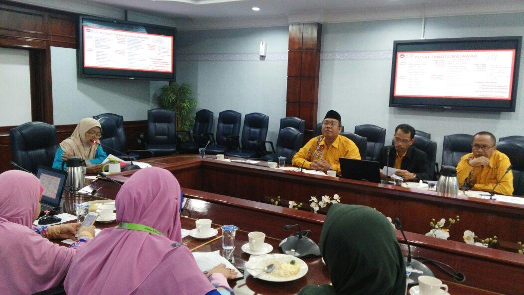 Internasionalisasi Tenaga Kependidikan, BUHK UNNES Kunjungi UPSI