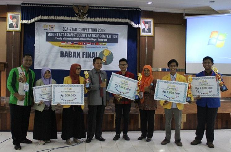 UNNES Borong Juara dalam SEA-STAR Competition