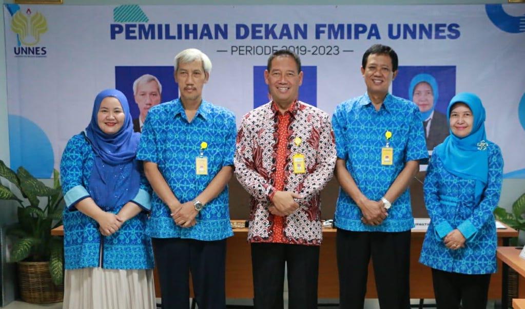 Dr Sugianto Dekan FMIPA 2019-2023