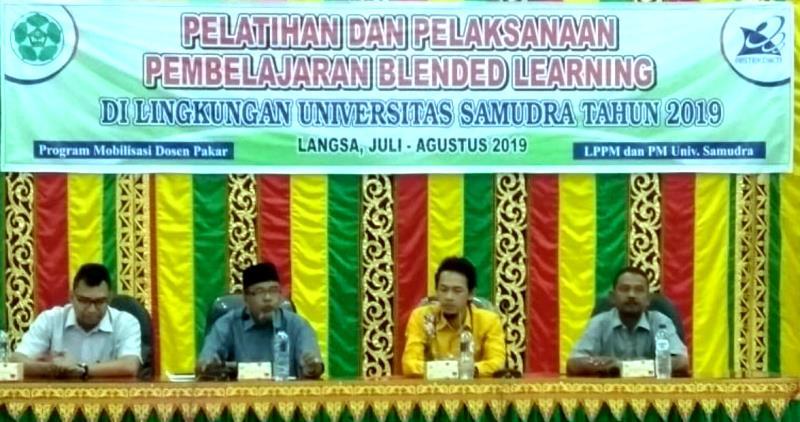Dampingi PTN Baru, UNNES kirim Pakar Blended Learning ke UNSAM Aceh