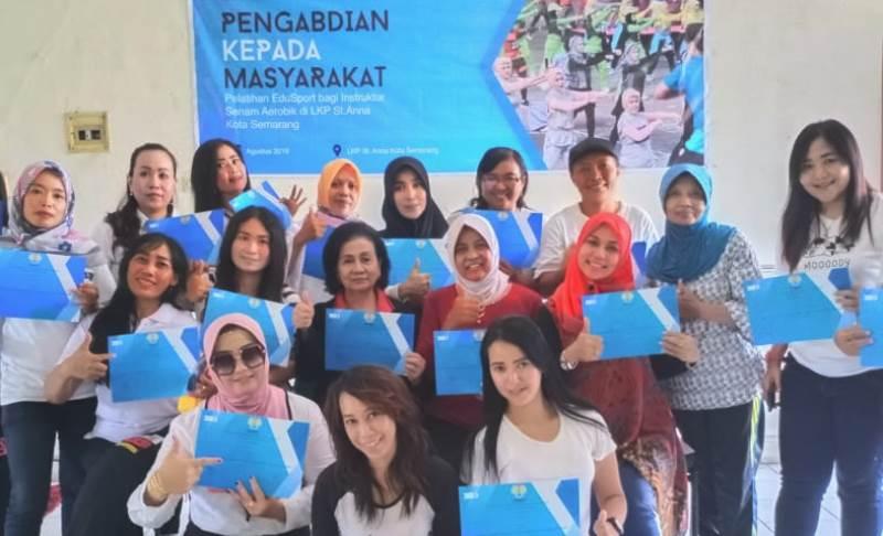 Dosen FIK UNNES Berikan Edusport Pada Instruktur Senam Aerobic