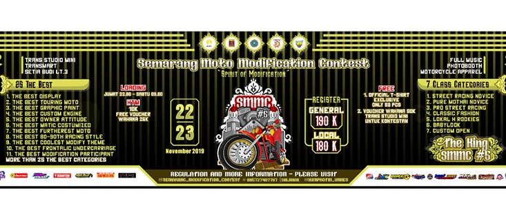 FT UNNES Selenggarakan Semarang Moto Modification Contest #5