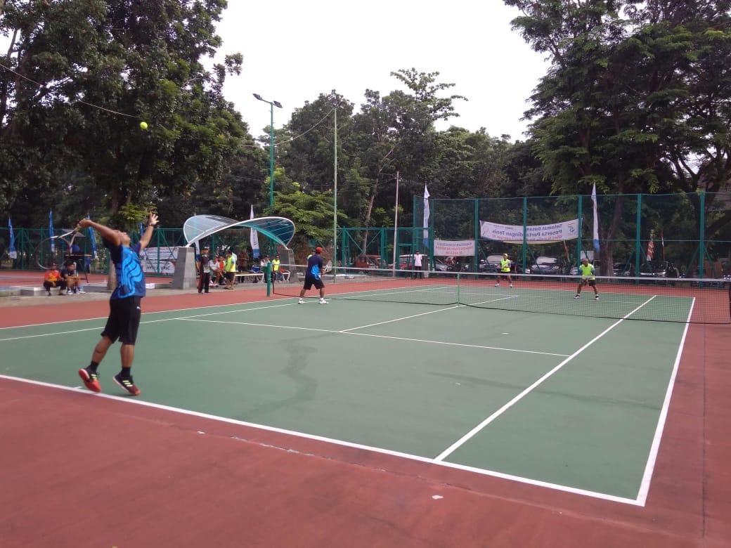 Final Pertandingan Tenis Beregu Kelas Prestasi dan Konservasi
