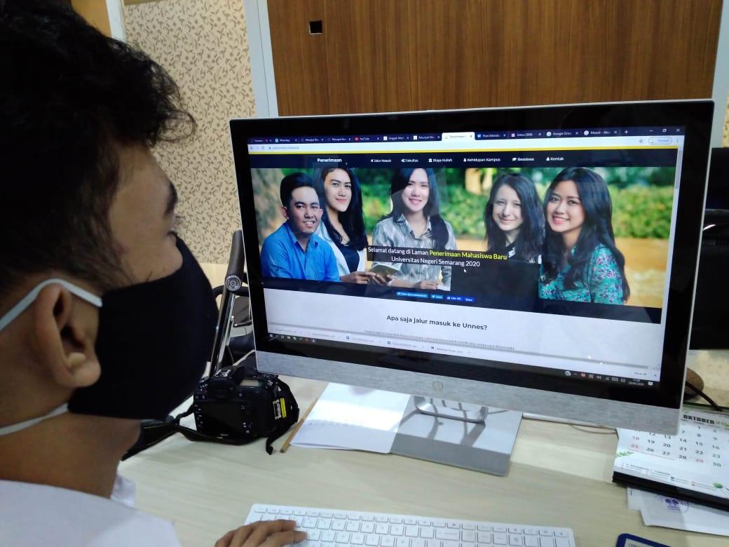 Batas Akhir Pengisian Data Pokok Bagi  Calon Mahasiswa UNNES  Jalur SNMPTN 2020
