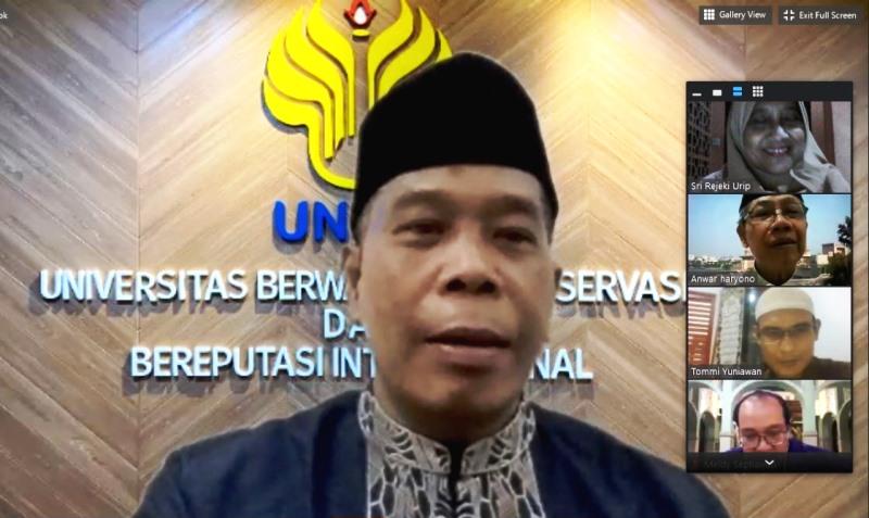 Rektor UNNES, Peringatan  Nuzulul Quran Momentum Untuk Kembali pada Alquran