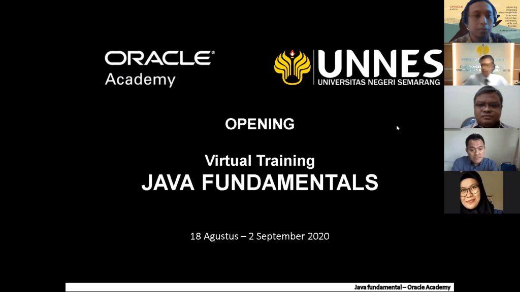FMIPA UNNES Bersama Oracle Academy Fasilitasi Dosen Mendapatkan Sertifikasi Kompetensi