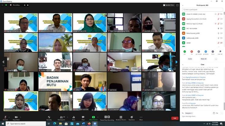 UPT Kearsipan UNNES Sosialisasikan Jadwal Retensi Arsip Tahun 2020