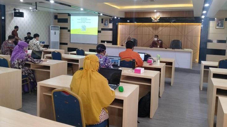 Dukung Pemeringkatan Institusi, WR IV Sosialisasikan Sistem Informasi Kerja Sama Baru