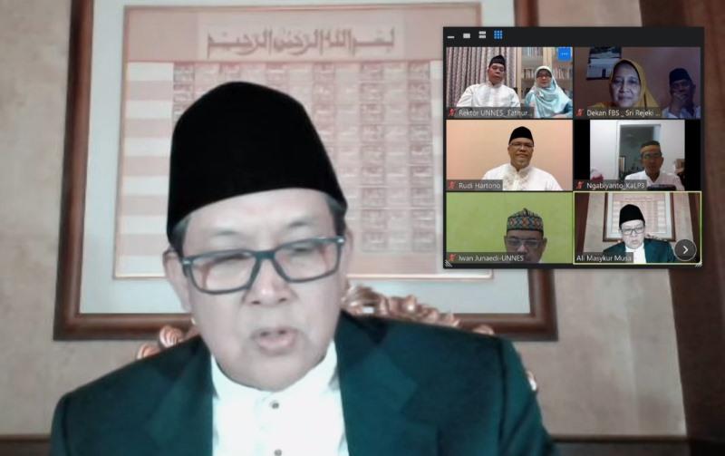 Peringatan Maulid Nabi BAI UNNES, Prof Fathur Ajak Raih Kebahagiaan Sejati
