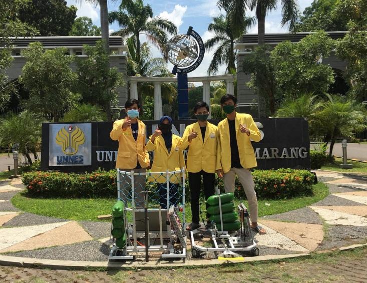 Tidak Terhalang Pandemi, Bledheg Ijo UNNES Maju dalam KRI Nasional