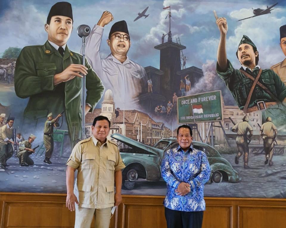 Menhan Prabowo Subiyanto Dukung Rektor UNNES Perkokoh NKRI melalui Iptek
