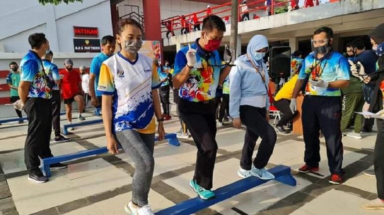 FIK UNNES Berikan Tes Kebugaran Fisik bagi Masyarakat Kota Semarang