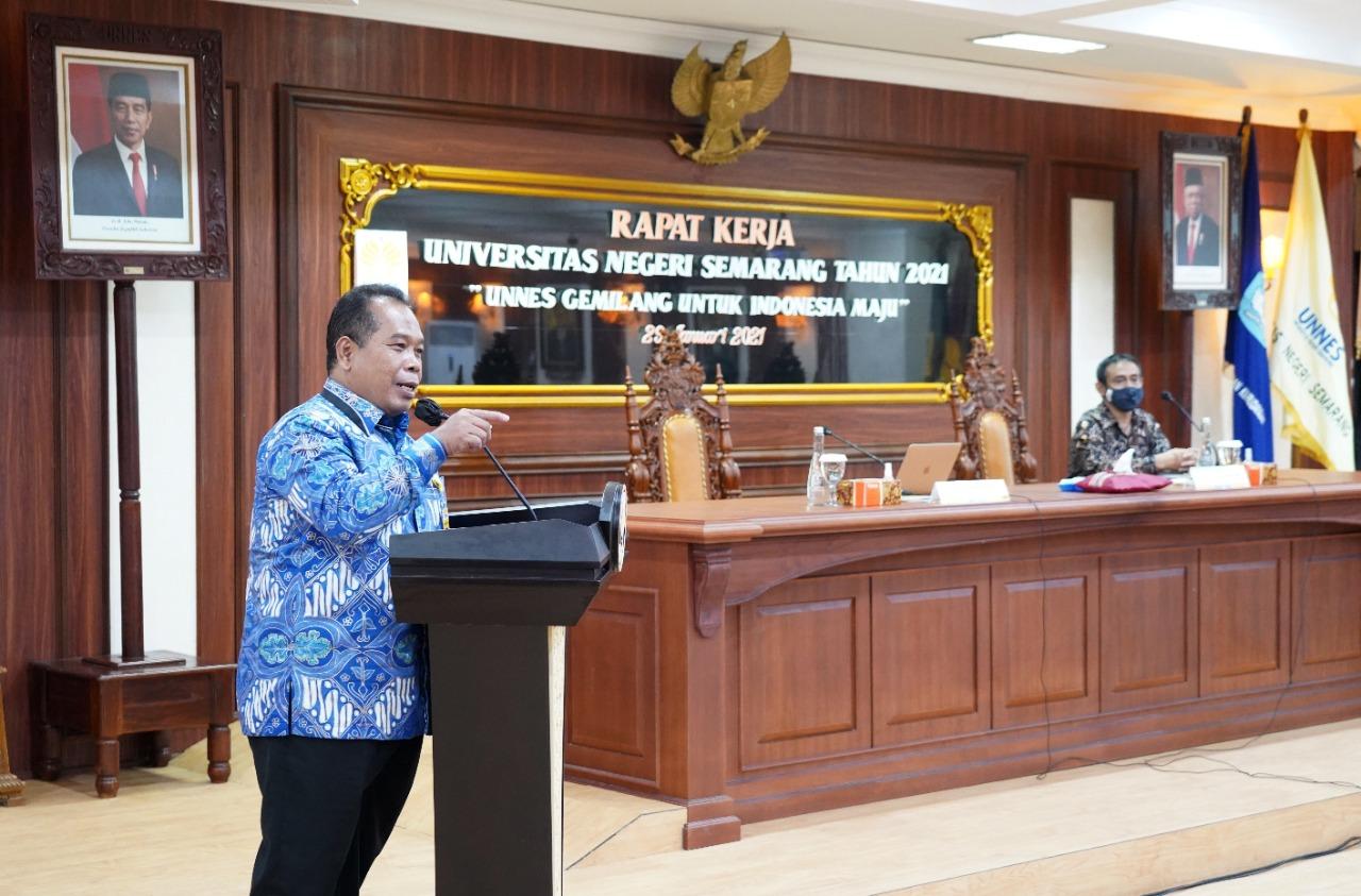 Rapat Kerja Universitas, Rektor; Kita Harus Tingkatkan Kapasitas Mutu Tri Dharma Perguruan Tinggi