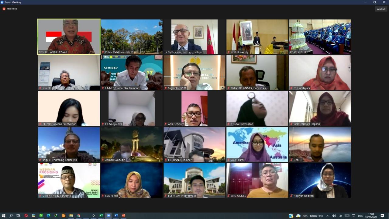 UNNES Jalin Kerjasama Dengan Universitas Hassan I Maroko, Bumikan Budaya Indoensia
