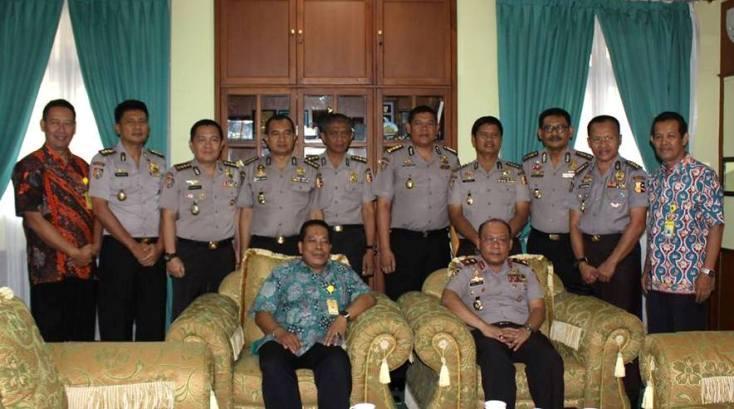 Tingkatkan Kerja Sama, Gubernur Akpol Kunjungi Unnes