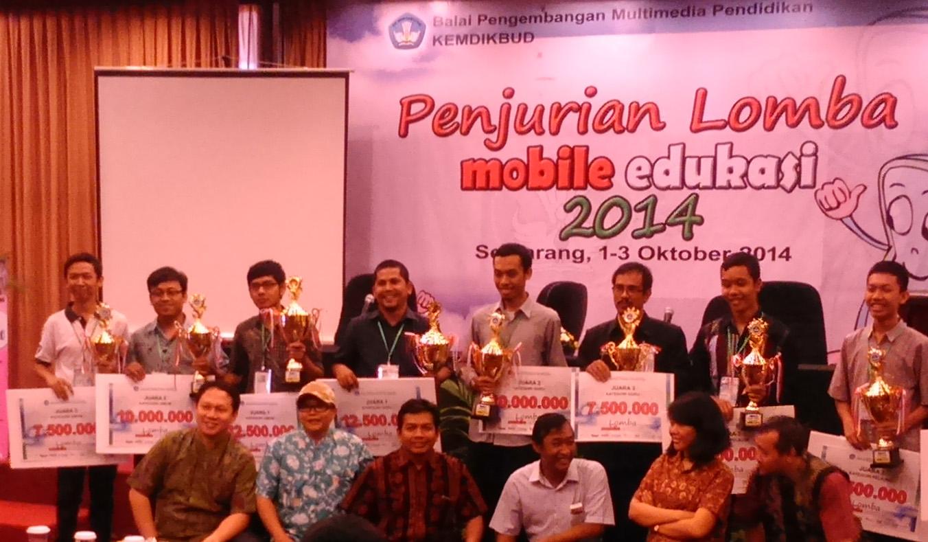 Mahasiswa Ilkom Unnes Juara 3 Lomba Mobile Edukasi