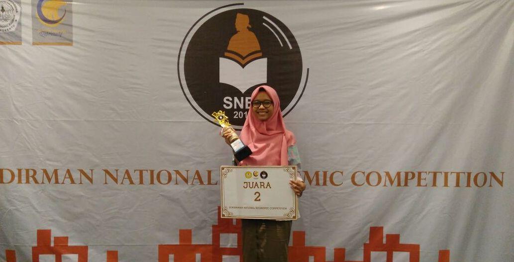 Mahasiswa Fakultas Ekonomi Raih Juara 2 (SNEC) 2017