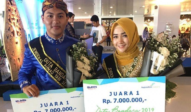 Juarai Pemilihan Duta Bandara 2019, Berlian Siap Adu Kebolehan di Tingkat Nasional