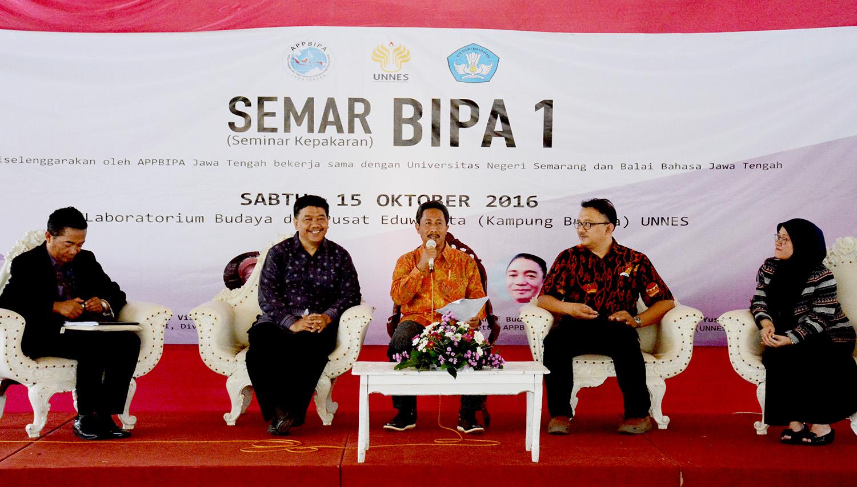UNNES Selenggarakan Seminar Kepakaran BIPA