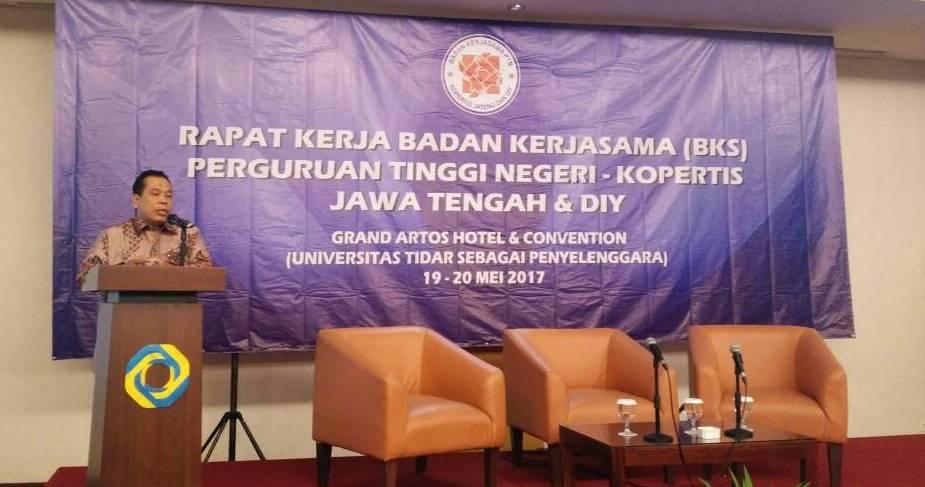 Rektor UNNES/Ketua BKS: Perguruan Tinggi Kompak Jaga NKRI