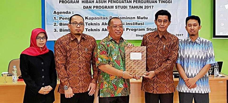 BPM UNNES Jalin Kerjasama Dengan STKIP Singkawang