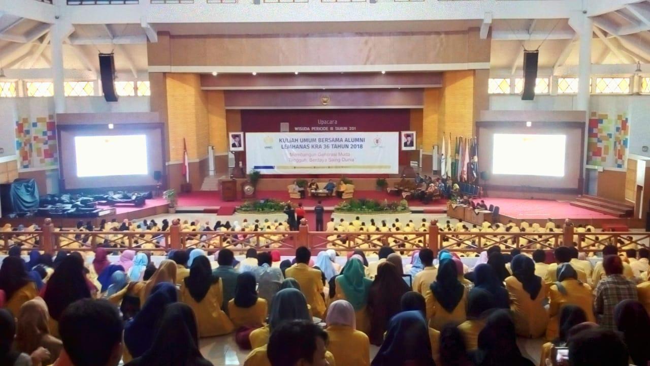 Alumni Lemhanas Beri Kuliah Umum di Depan Mahasiswa UNNES