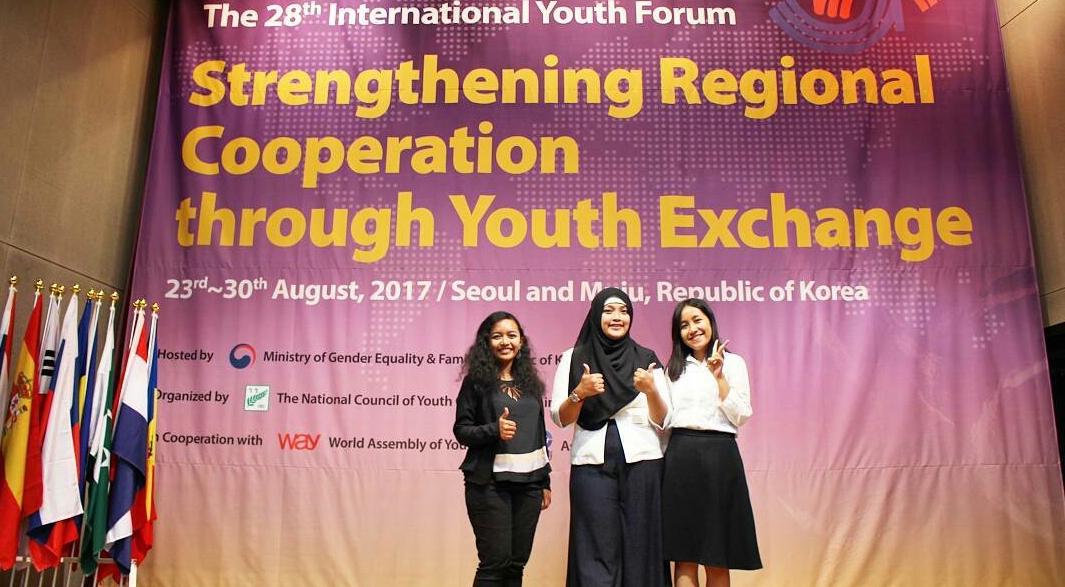 Mahasiswa Unnes Wakili Indonesia dalam International Youth Forum di Korea