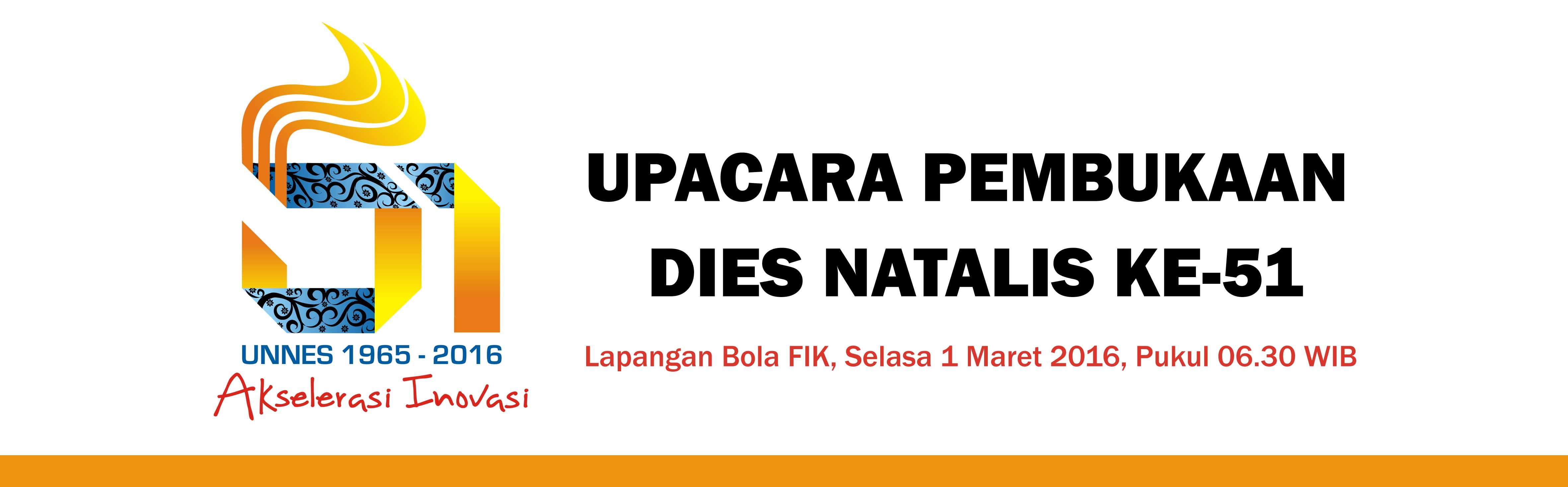Besok, Pembukaan Dies Natalis ke-51 Dimeriahkan 1000 Penari