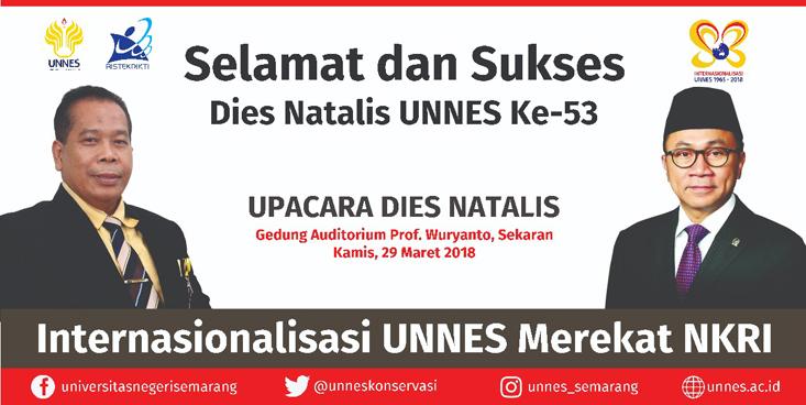 Besok, Upacara Dies Natalis UNNES
