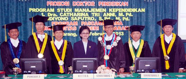 Kembangkan Model Penyusunan Progam BK, Catharina Raih Doktor
